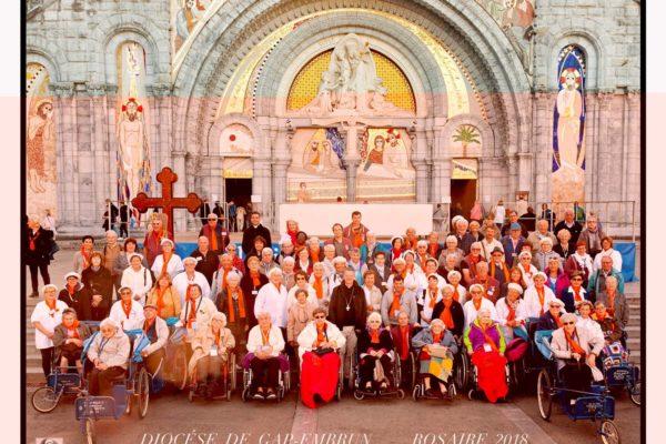 Le diocèse de Gap en pèlerinage à Lourdes