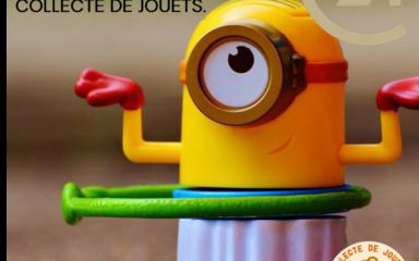 Collecte de jouets organisée par Century 21 en partenariat avec le Secours Catholique
