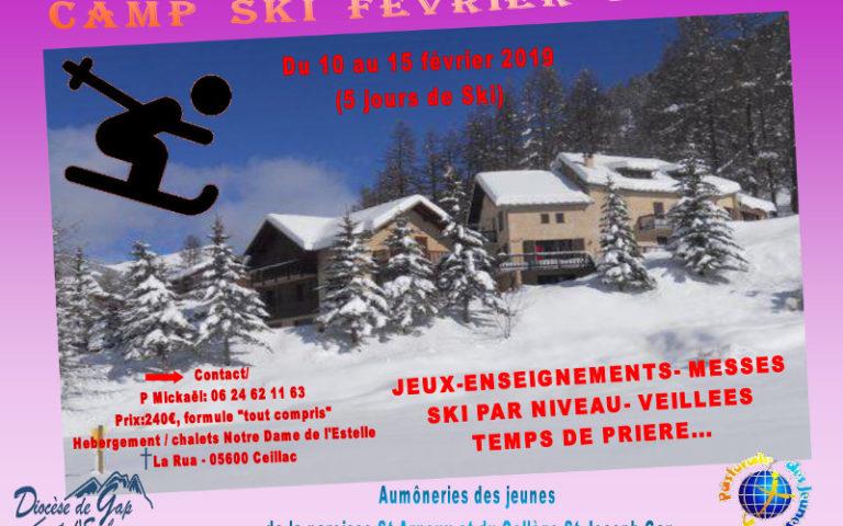 Camp de ski à Ceillac