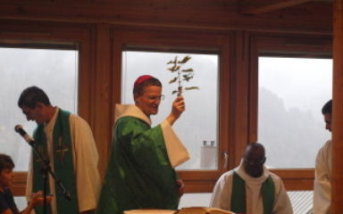 Inauguration du chalet de Montcheny