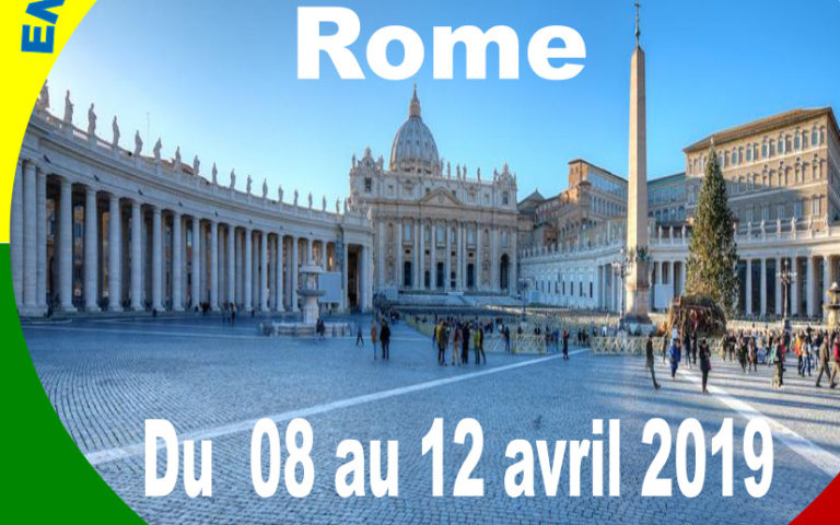 Ensemble, partons en pèlerinage à Rome