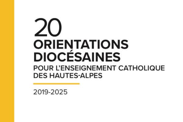 Les orientations diocésaines pour l'enseignement catholique