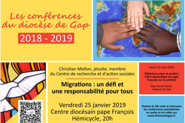 Migrations: un défi et une responsabilité pour tous