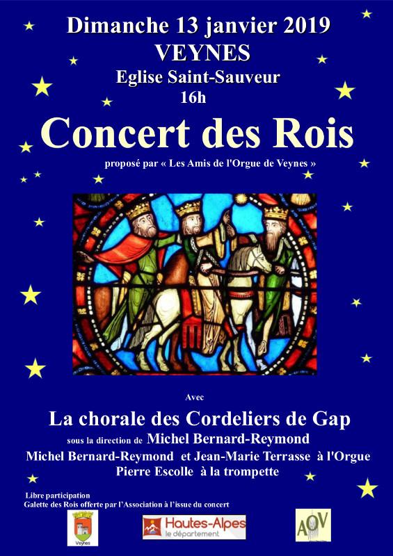 You are currently viewing Concert des Rois avec les Amis de l'orgue de Veynes