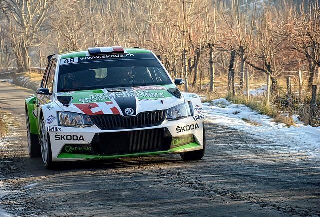 Départ du rallye Monte-Carlo 2019 à Gap