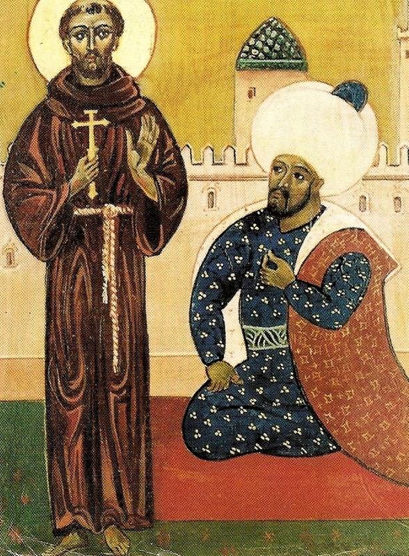 Rencontre de François d'Assise et du Sultan: 800 ans plus tard…