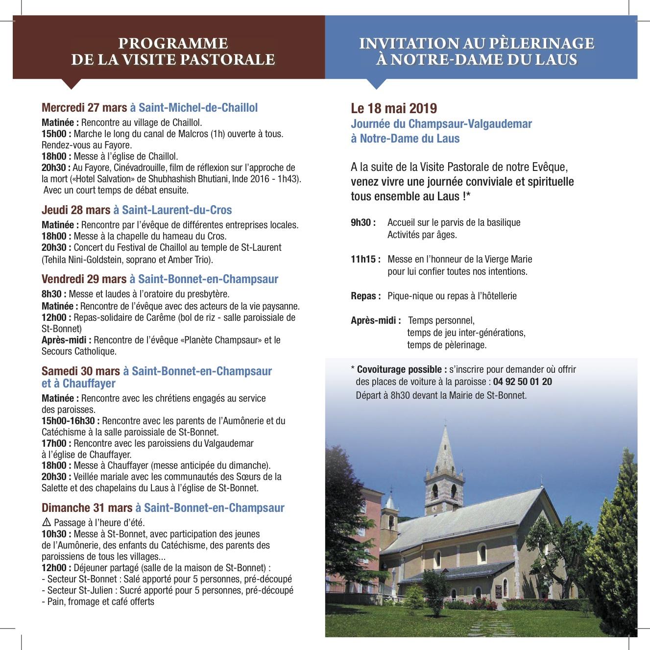 Visite pastorale: suite et fin en image !