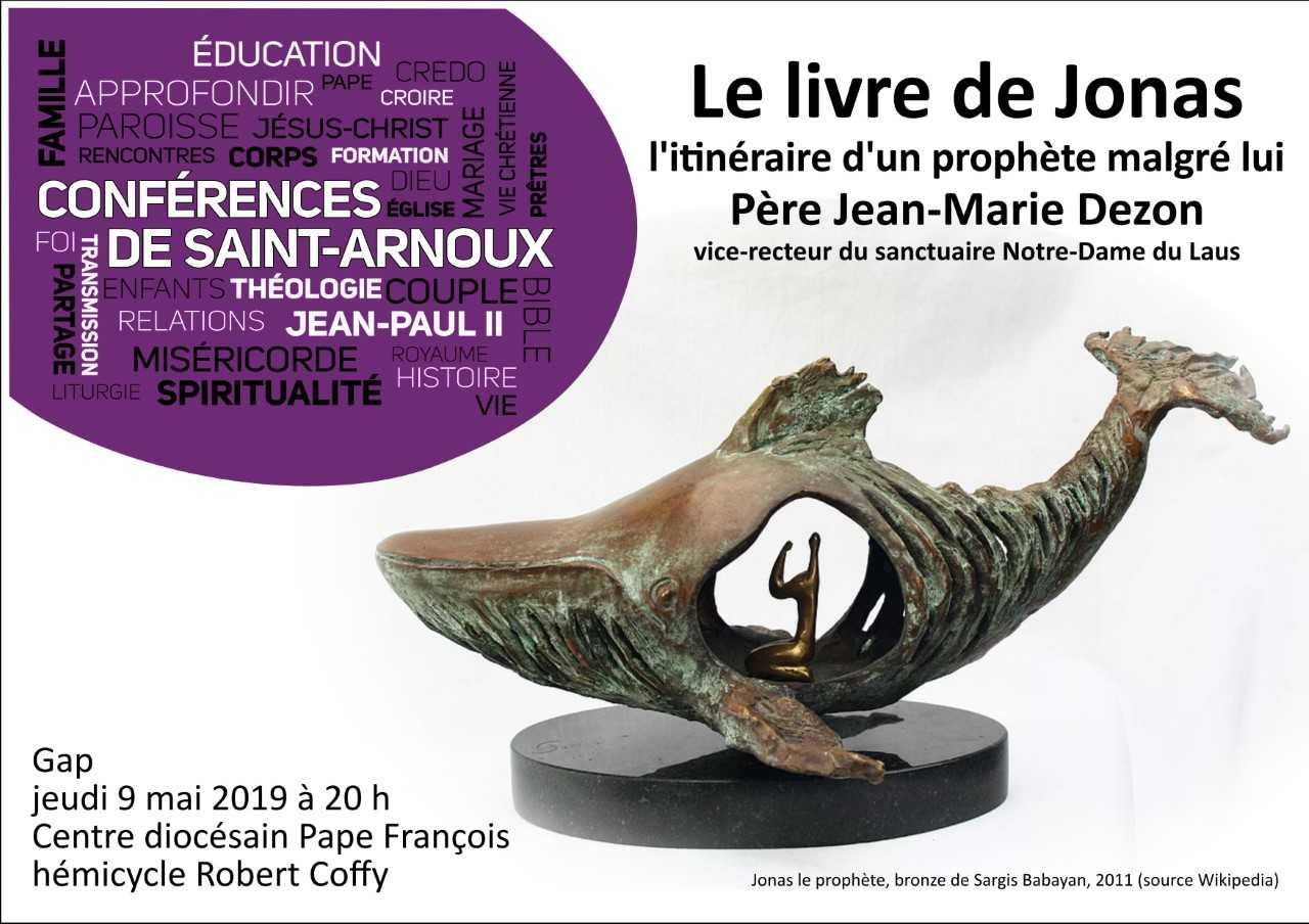 Conférence diocésaine le 9 mai par le Père Jean-Marie Dezon