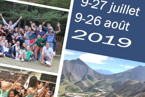 A vos agendas ! BAFA ou Camps d'été avec l'Eau Vive à Briançon