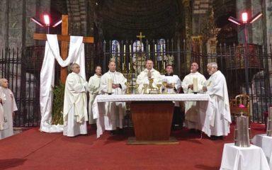 Homélie de la messe Chrismale de Monseigneur Malle en la cathédrale d'Embrun, lire/ télécharger/ écouter
