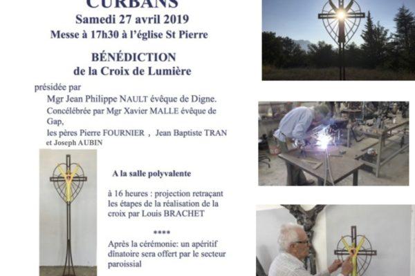 Emission spéciale sur RCF sur la Croix de Lumière de Curbans