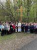Homélie de la Messe suivant la bénédiction d'un calvaire à l'entrée du hameau des Borels à Champoléon le 19 mai 2019