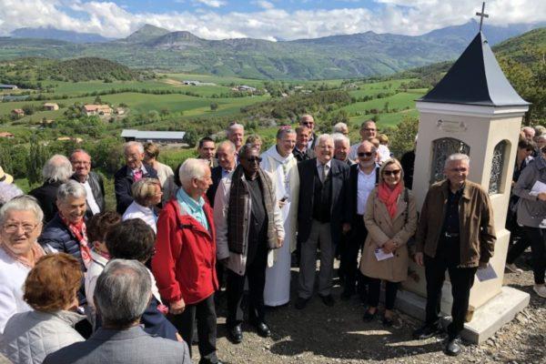Homélie du 26 mai 2019 à Rambaud à l'occasion de la bénédiction du nouvel oratoire des contours à Rambaud