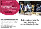 """Conférences de Saint-Arnoux: """"Ordre, rythme et style, leurs déclinaisons dans la célébration liturgique"""" le 20 juin, à Gap"""