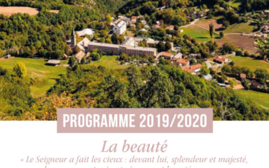 Livret programme 2019 2020 du Sanctuaire du Laus