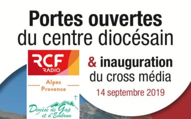 14 septembre 2019 Bénédiction du studio Cross Médias RCF-Diocése – Journée portes ouvertes