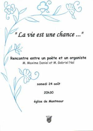 À Montmaur, concert d'orgue et poésies