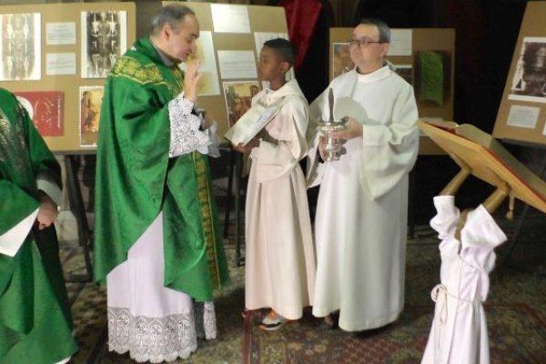 Revivez la bénédiction du lutrin offert par Louis Brachet à la cathédrale de Gap