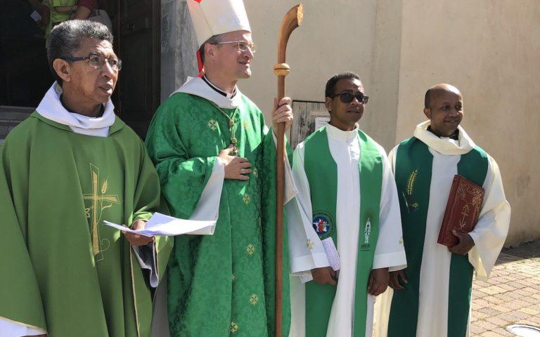 Homélie de la messe d'installation du curé du Champsaur-Valgaudemar