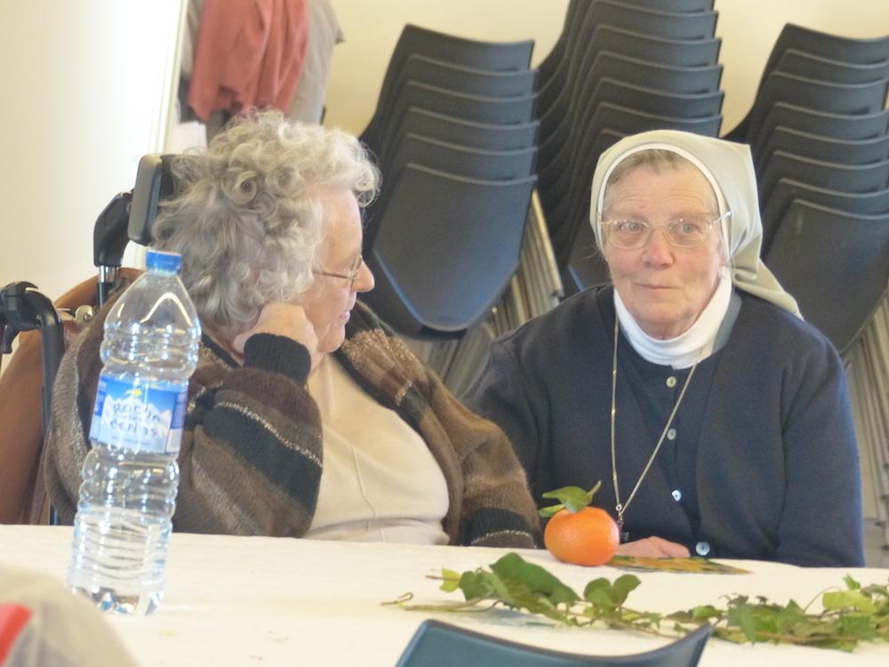 Tristesse du départ des soeurs Trinitaires d'Embrun