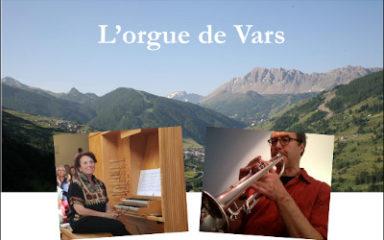 Un concert autour de l'orgue de Vars lundi 28 octobre