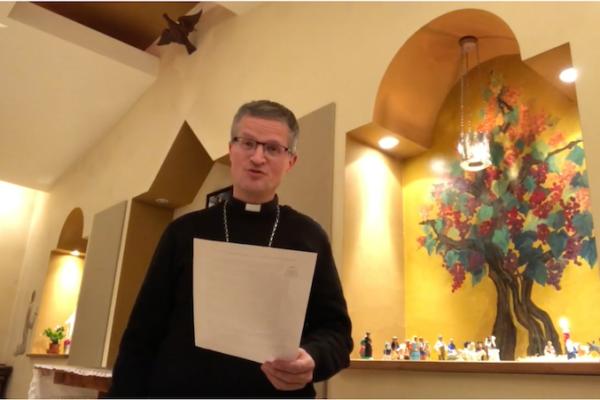 Message de Noël de Mgr Xavier Malle