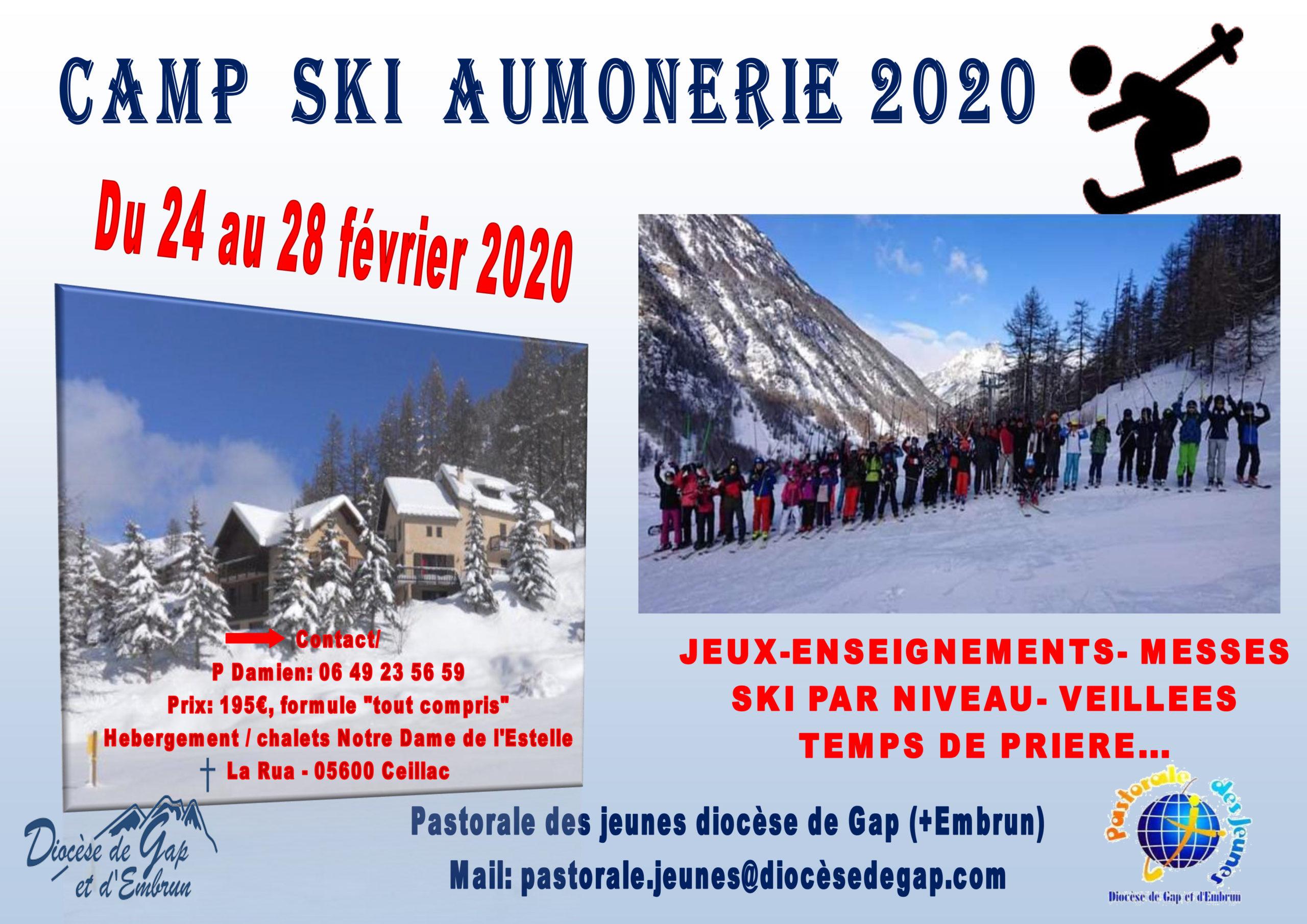 Camp de ski à Ceillac pour les jeunes