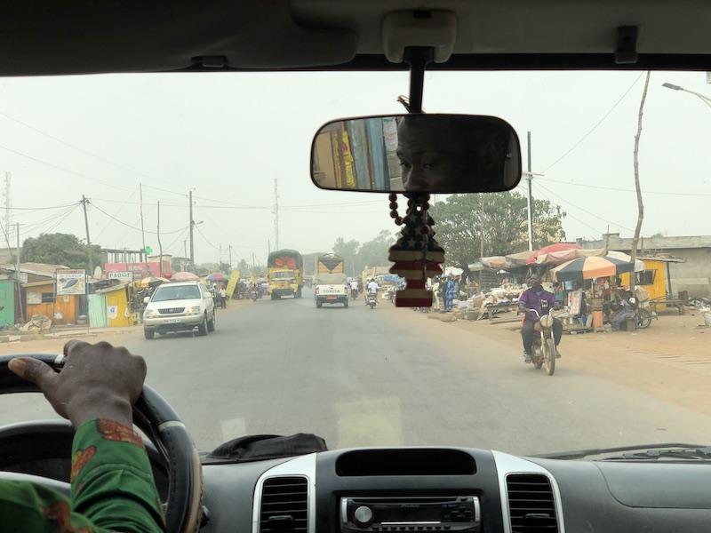 De retour du Bénin