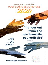 Semaine de prière pour l'Unité des Chrétiens 2020
