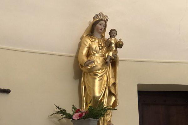 20200201 Homélie de la messe de bénédiction de la statue de Marie dans l'église de MEREUIL