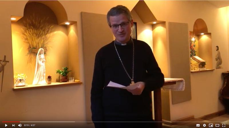 #confinement 4ème message de Mgr Xavier Malle