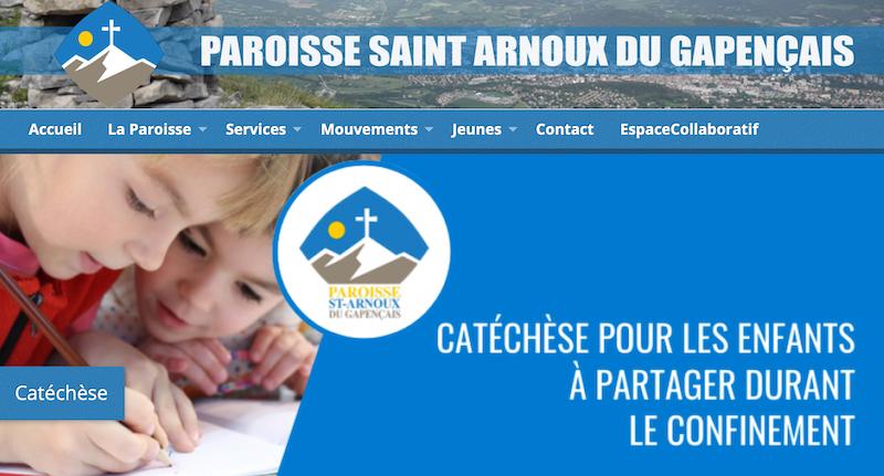 You are currently viewing #confinement La paroisse de Gap continue Messes et catéchisme sur internet