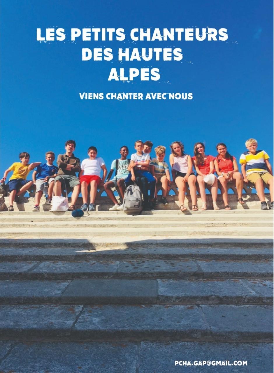 Lancement du CD des Petits chanteurs des Hautes-Alpes !