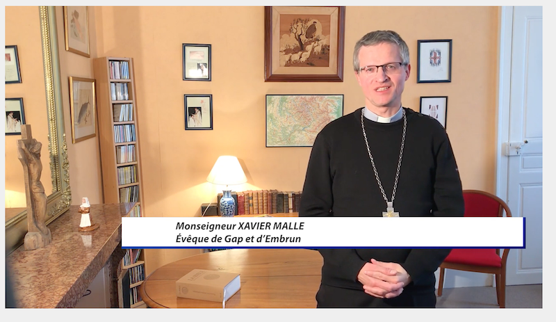 """#confinement VIDEO pour DICI-TV de Mgr Malle """"Oui on peut célébrer des obsèques dans nos églises"""""""