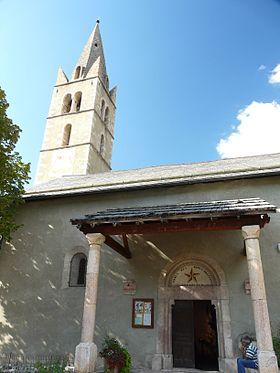 La messe des Rameaux à Eygliers en image