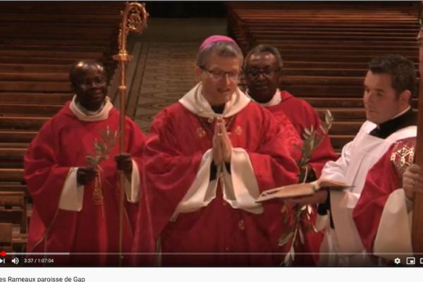 #SemaineSainte Homélies de Mgr Xavier Malle en la cathédrale de Gap FOI-ESPERANCE-CHARITE