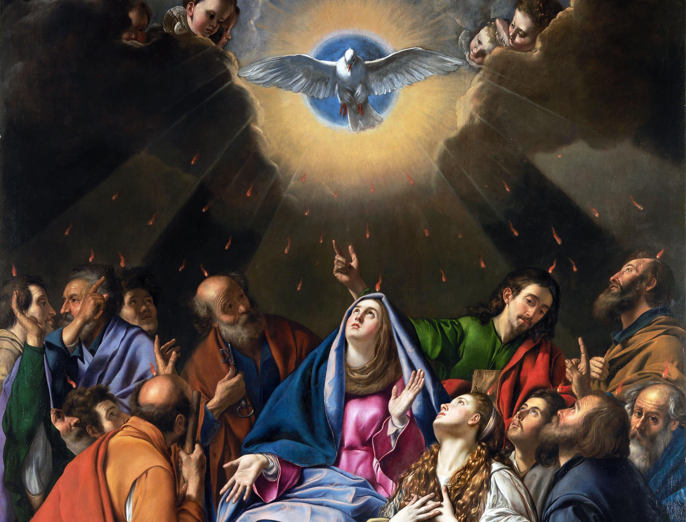Samedi de la Pentecôte 2020 #Covid-19 : Chapelet avec le Pape et Veillée à l'Esprit Saint