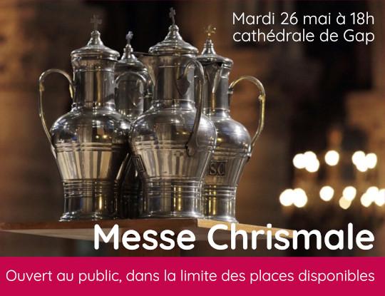 Messe Chrismale 26 mai 2020 – Homélie