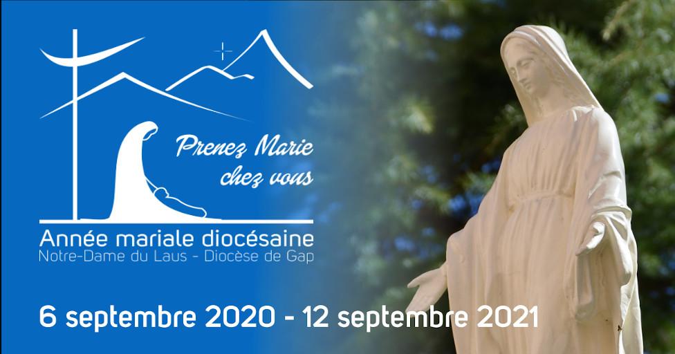 Mgr Xavier Malle vous invite à consacrer toute une année à la Vierge Marie