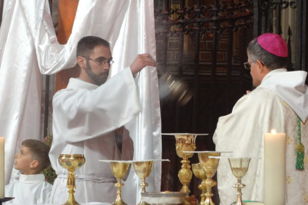 Ordination diaconale de Thibaud Varis