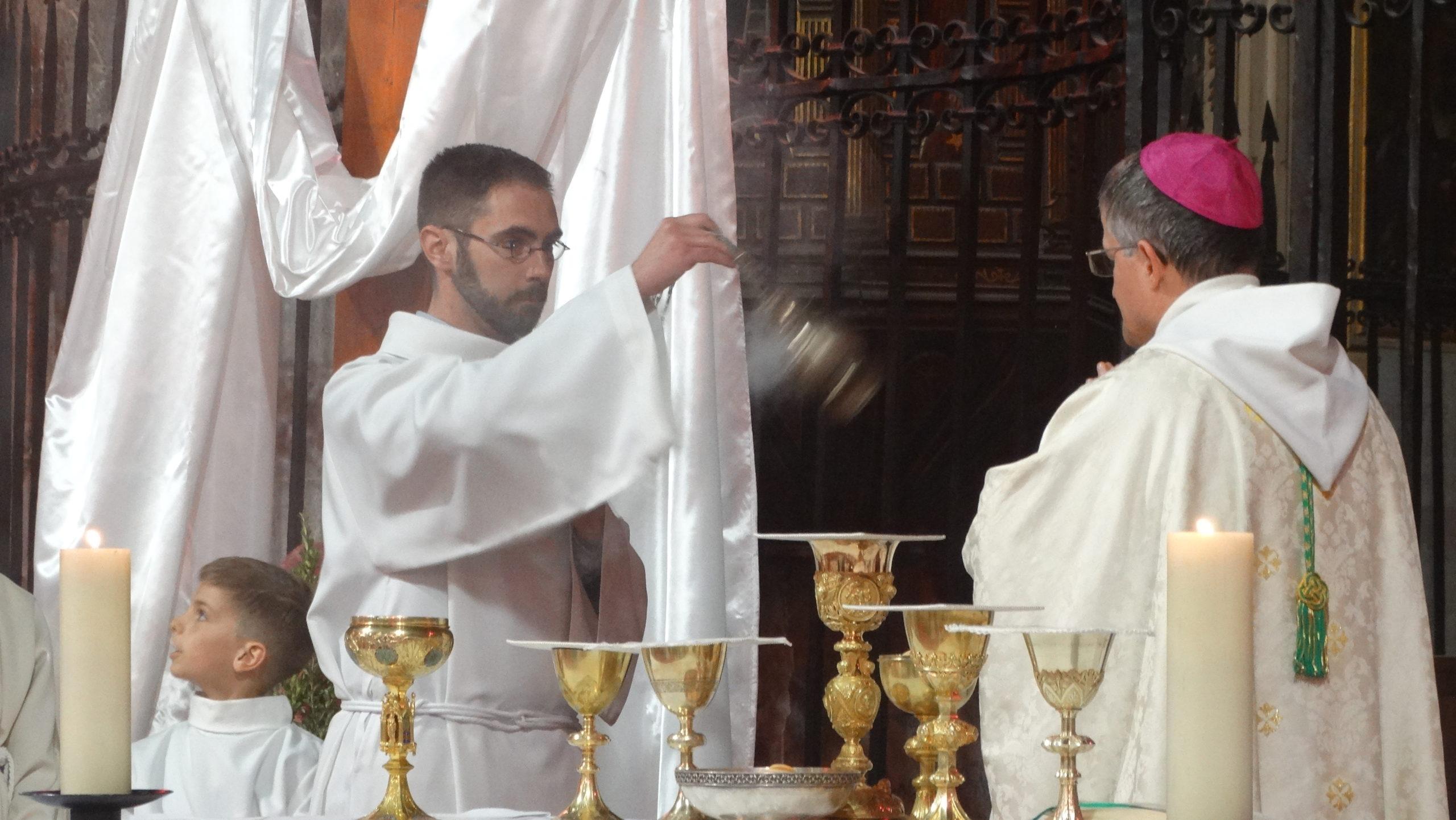 Ordination diaconale de Thibaud Varis