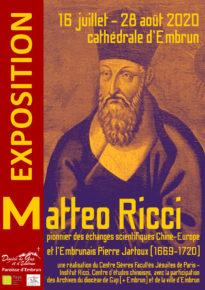 Affiche exposition Matteo Ricci à Embrun