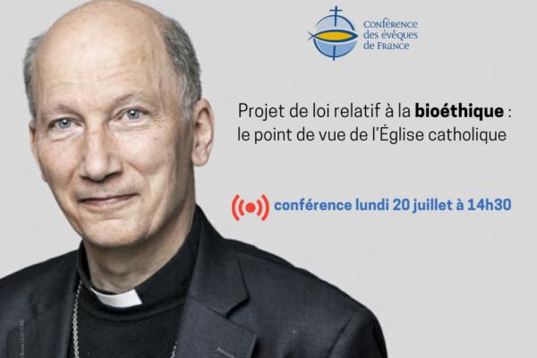 Projet de loi relatif à la bioéthique : le point de vue de l'Église catholique