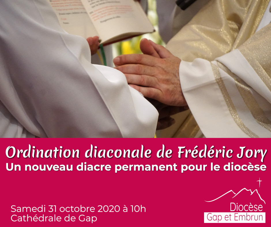 Ordination de Frédéric Jory