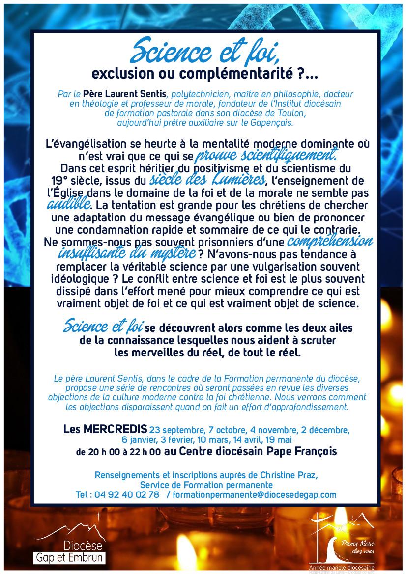 Programme de la formation permanente du diocèse