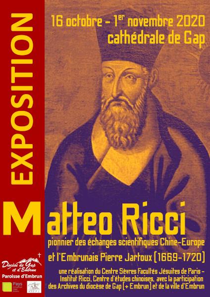Dernière étape accessible au public pour l'exposition Ricci