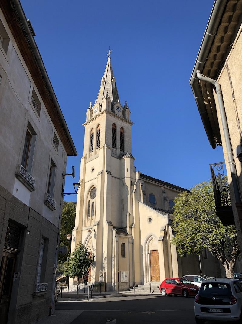 20201011 Homélie installation P JP Oddon curé de Laragne