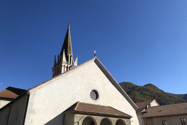 20201018 Homélie de l'installation du père Denis-Marie, franciscain trinitaire, curé du Veynois, Serrois, Dévoluy…