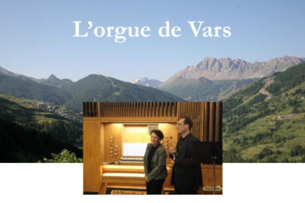 L'orgue de concert à Vars