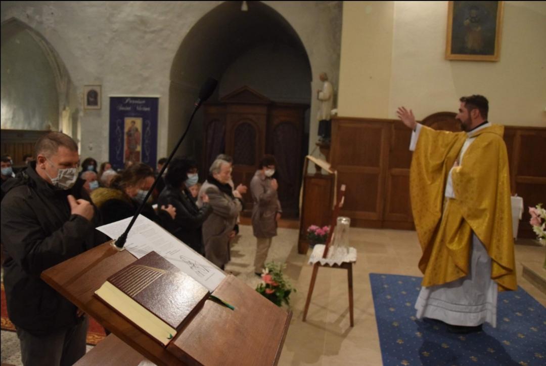 Ouverture de l'année pastorale pour l'ensemble paroissial Saint-Michel de Serre-Ponçon